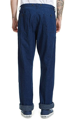 Pantalon Chino Lee 101 Worker Indigo Homme