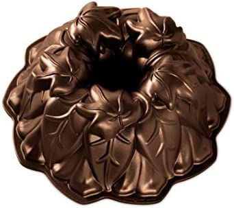 Nordic Ware Harvest Leaves Bronze product image
