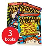 Compton Valance 3 Book Collection Pack Set By Matt Brown (Most Powerful Boy in Universe, Time Travelling Sandwich Bites Back, Super Farts versus the Master of Time) by Matt Brown (2016-08-02)