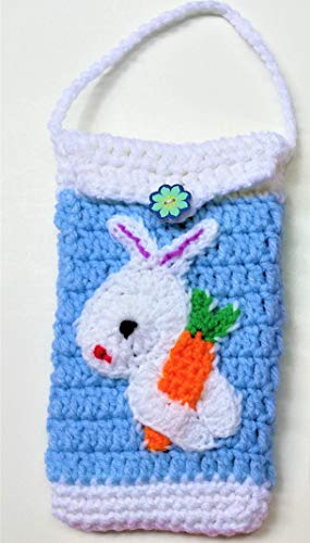 Mother's Gift Under $15 Cell Phone iPhone/Android Cases For Women Girls Bunny Carrot Birthday Gifts Convenient For Walking, Running and Other Outside Activities - Personalization Available ()