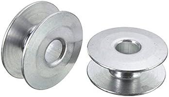 MJJEsports Aluminio Industrial Máquina De Coser Bobbins Fit ...