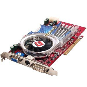 ATi Radeon X700 256MB DDR AGP 8x Video Card with DVI (X700 256mb Radeon Ati)