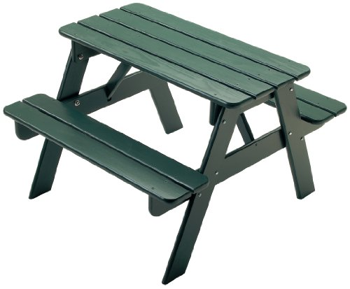 Little Colorado Child's Picnic Table- Green (Denver Furniture In Stores Outdoor)