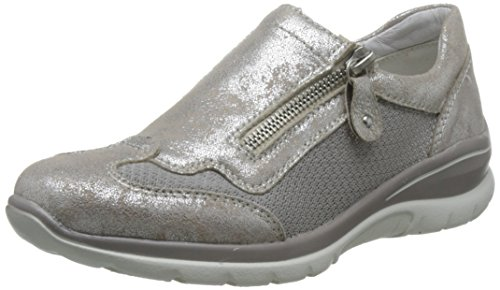 Femmes Chaussures basses beige-silver/fog beige, (beige-silver/fog) D5305-60