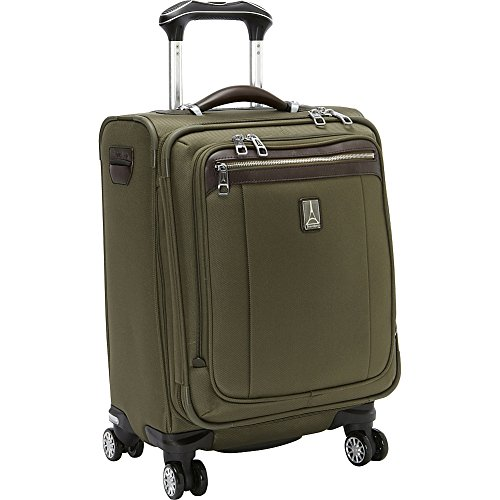 Travelpro PlatinumMagna2 International Carry-On Expandable Spinner Carry-On Suitcase, 20-in., Olive (Travelpro Platinum Magna 2 International Expandable Spinner)