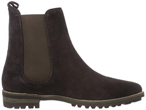 Femme Marron Brown Dark Chelsea Boots Hd7 Jy16s18 Giudecca 1 SHqaII