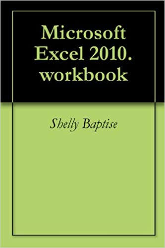 Read Microsoft Excel 2010.workbook PDF