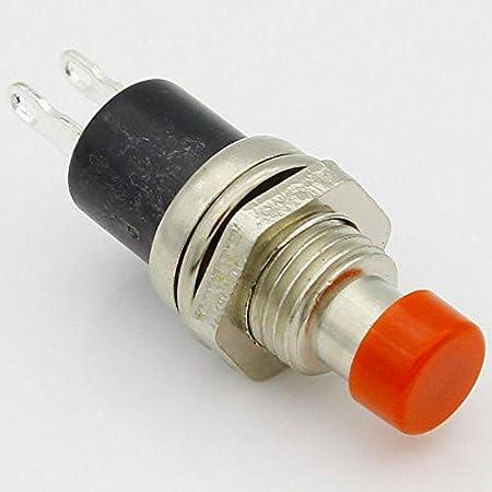 SENRISE Bouton poussoir 3 pi/èces miniature momentan/é Bouton poussoir poussoir pour faire//pousser pour casser vert pour interrupteur de bouton dalimentation LED