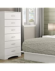 South Shore Step One 6-Drawer Chest, Pure White