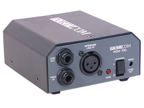 Anchor Audio PGM-100 Program Mixer Feedback Module for PortaCom Wired Intercom System
