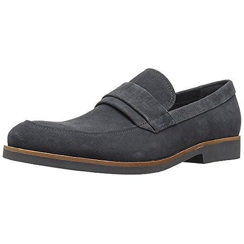 Calvin Klein Men's Forbes Calf Suede Slip-on Loafer