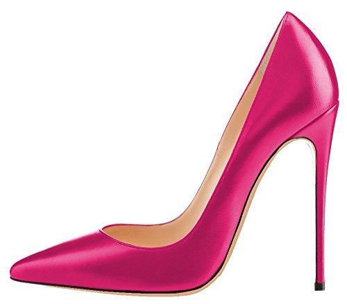 Talon Aiguille Rouge Grande Talons Chaussures Escarpins Stilettos Taille Chaussures PU Femmes uBeauty Femme qAFWZxwfgF