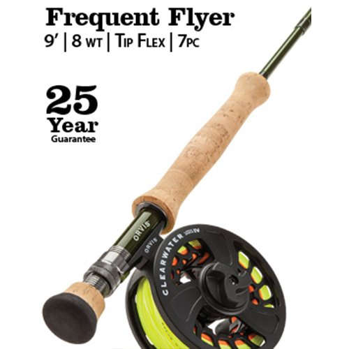 Tip Flex Fly Rod (Orvis Clearwater Frequent Flyer 8-weight, 9' 0