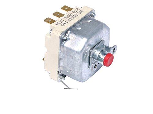 elframo Thermostat de sécurité EGO 20A 3pôles t. Max Longueur 230°C Sonde 239mm kapillarr ohrl änge 830mm Sonde Ø 6mm