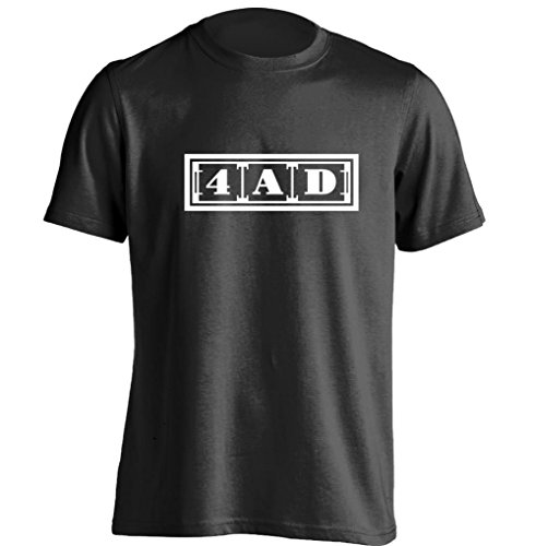 4AD Mens & Womens Printing T Shirt Personalized Tee