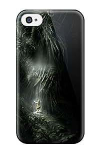 New Style 8416226K355374721 demon monster anime girl horror Anime Pop Culture Hard Plastic iPhone 4/4s cases