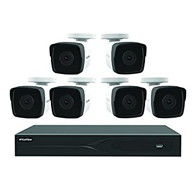 LaView LV937F44H5-T1 8-channel 5MP IP 1TB HDD Surveillance DVR with (4) 5MP Bullet Cameras from LaView