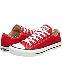 Converse The Chuck Taylor All Star Lo Sneaker (7 D(M), RED)