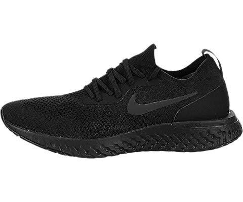 Nike Mens Epic React Flyknit Running Shoes Black/Black/Black AQ0067-003 Size 10.5