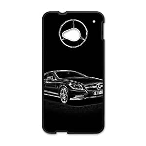 Happy Benz sign fashion cell phone case for HTC One M7
