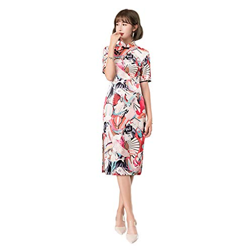 Fashion Nuevo Yaotiao Largo Cheongsam Velvet Vestido Tamaño Sweet color Delgado Multi Mejorado Xxl Color Autocultivo Girl Ex4xqYv