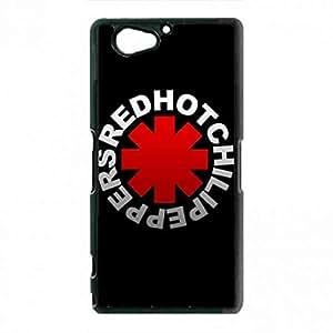 Uncommon Rock Band Red & Hot Peppers Funda Cover Sony Xperia Z2Mini Phone Funda Retro Style