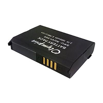 Replacement 010-11143-00, 361-00038-01 Battery for Garmin Nuvi 500, Nuvi 510, Nuvi 550, Zumo 220, Zumo 600, Zumo 650, Zumo 660, Zumo 660LM, Zumo 665, Zumo 665LM, Aera 500, Aera 510, Aera 550, Aera 560