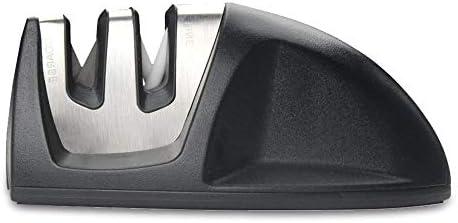 1包丁研ぎ器 シャープナー2段階シャープニングシステム 粗研ぎ 細研ぎ 急速に研ぐ ステンレス鋼 ダイアモンドコーテ