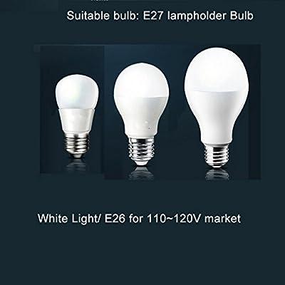 LightInTheBox Vintage Flush Mount LED Chandeliers Pendant Lights Bronze Finish Lighting Fixture Voltage = 110-120V, Light Source=Warm White
