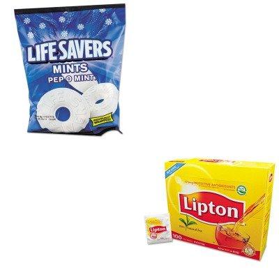 kitlfs88503lip291-value-kit-lifesavers-hard-candy-lfs88503-and-lipton-tea-bags-lip291