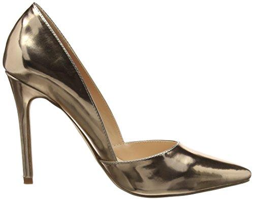 London Rebel Damen Felicity Pumps Gold (Rose Gold)