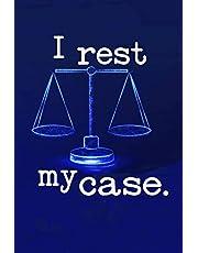 I rest my case.: I rest my case lawyer gift