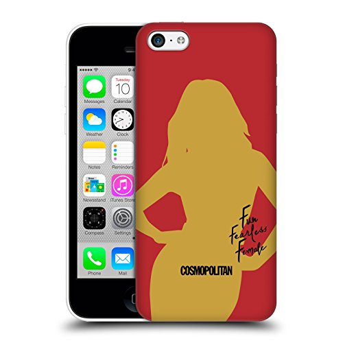 Official Cosmopolitan Cover Girl 3 Fun Fearless Female Hard Back Case for Apple iPhone 5c