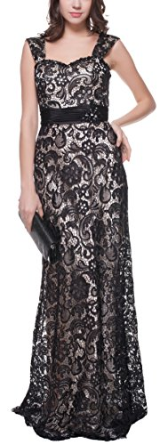 Embellished Satin A-line Dress - Meier Women's Sleeveless Embellished Lace Formal Evening Dress size 16