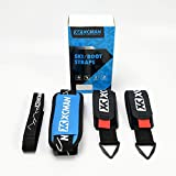 XCMAN Ski Carrier Straps BONUS- Shoulder Sling with Cushioned Velcro Holder - Protects