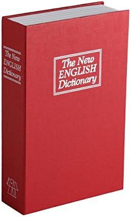 Premium Libro Caja Fuerte Dinero láser con 2 llaves Medidas: 23,5 x 15,5 x 5,5 cm), color rojo: Amazon.es: Bricolaje y herramientas