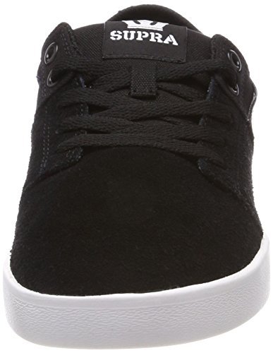 Black Stacks Supra White Skate Ii Grey Shoe 0qnwZU