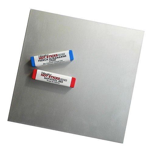 Enkaustikos Anodized Aluminum Plate 6x6