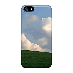 For CalvinDoucet Iphone Protective Cases, High Quality For Iphone 5/5s Tree On A Hill Skin Cases Covers