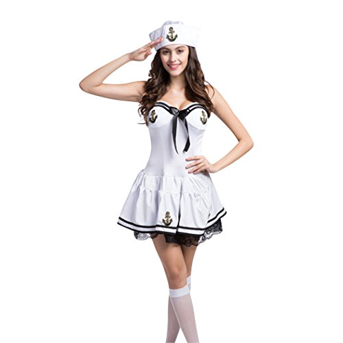 HÖTER Ladies Sexy Sailor Girl Pinup Navy Uniforms