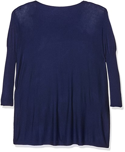 Tantra Wide Knitted Dress - Vestido de manga larga para mujer Azul Marino