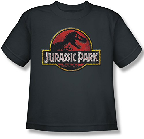 Stone T-shirt Youth (Youth: Jurassic Park - Stone Logo Kids T-Shirt Size YM)