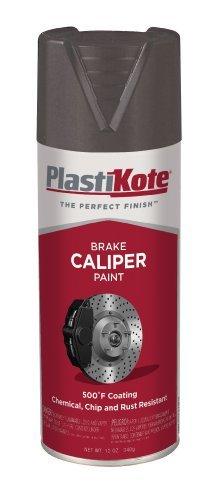 (PlastiKote CP-253 Hi Gloss Black Brake Caliper Paint - 12 Oz. by PlastiKote)