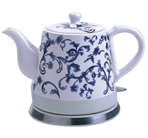 FixtureDisplays Ceramic Electric Kettle Water Boiler Tea Maker 15001-NF
