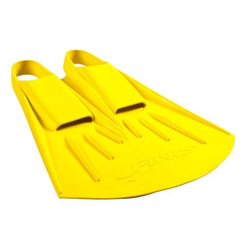 Finis Adult Foil Monofin - Yellow, Small by FINIS