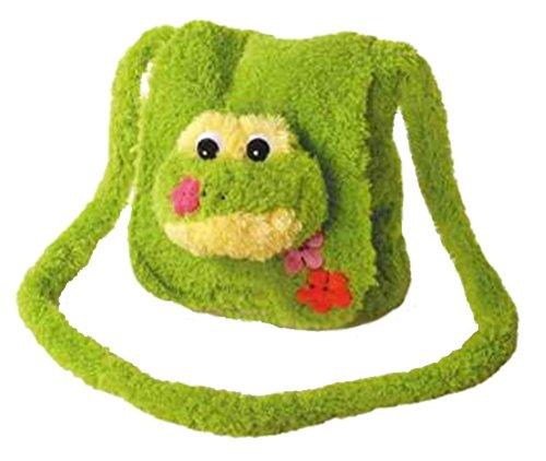 Inware 6241 - Kindergartentasche Frosch, grün, Umhängetasche