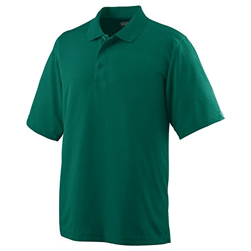 Sportswear Wicking Button Augusta - Augusta Sportswear Men's Wicking MESH Sport Shirt XL Dark Green