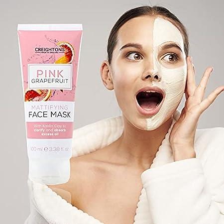 Creightons Charcoal Skincare Pink Grapefruit Mascarilla Facial 100 Ml 100 ml