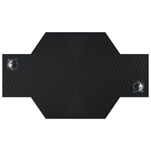 FANMATS 15385 NBA Minnesota Timberwolves Motorcycle Mat by Fanmats