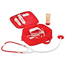Hape Doctor on Call Wooden Toddler Role Play and Accessory Set